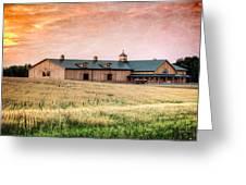 The Barn II Greeting Card
