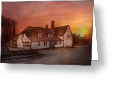 The Barrow House Egerton Greeting Card