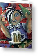 The Bartender Greeting Card