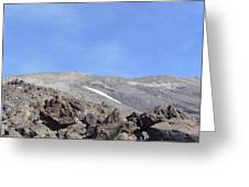 The Base Of Mt St Helens  Greeting Card