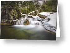 The Basin Cascades Greeting Card