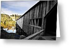The Bath Covered Bridge Greeting Card