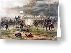 The Battle Of Antietam Greeting Card