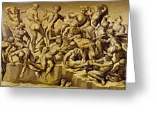 The Battle Of Cascina Greeting Card