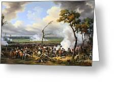 The Battle Of Hanau Greeting Card