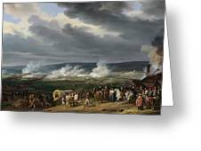The Battle Of Jemappes Greeting Card