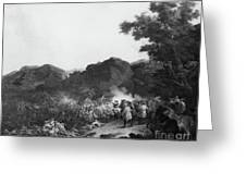 The Battle Of Lens Greeting Card