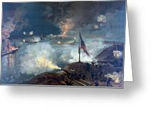 The Battle Of Port Hudson - Civil War Greeting Card