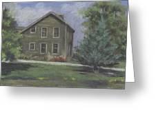 The Bauer Farm Greeting Card