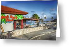 The Beach - Arashi Beach - Aruba - West Indies Greeting Card