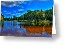 The Beach At Singing Waters Campground Greeting Card