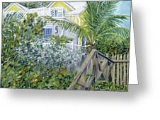 The Beach House Greeting Card