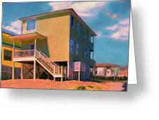 The Beach House Greeting Card