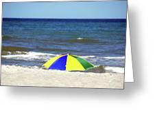 The Beach Is Mine Greeting Card