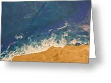 The Beach - Tac Greeting Card
