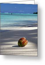 The Beaches Of Rarotonga Greeting Card