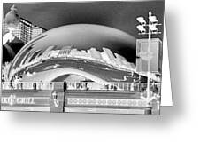 The Bean - 1 Greeting Card