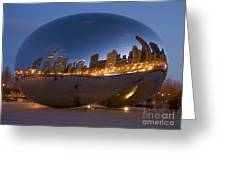 The Bean - Millenium Park - Chicago Greeting Card