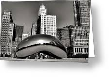 The Bean - 3 Greeting Card