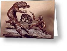 The Bear Trap Greeting Card