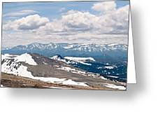 The Beartooth Mountains Greeting Card