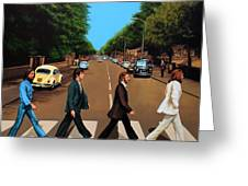 The Beatles Abbey Road Greeting Card