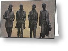 The Beatles N F Greeting Card