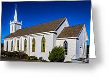 The Beautiful Bodega Church St. Teresas Of Avila  Greeting Card