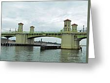 The Beautiful Bridge Of Lions Greeting Card