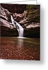 The Beautiful Cedar Falls Greeting Card