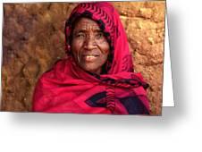 The Beautiful Granny Greeting Card