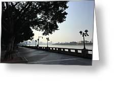 The Beautiful Pearl River Greeting Card