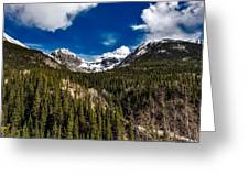 The Beautiful San Juan Mountains Greeting Card