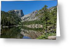 The Beautiful The Louch Lake With Reflection And Clear Water Greeting Card