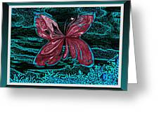 The Beauty Of A Butterfly's Spirit Greeting Card