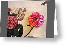 The Beauty Of A Dried Rose Greeting Card