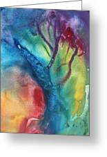 The Beauty Of Color 3 Greeting Card by Megan Duncanson