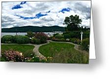 The Beauty Of Lake George Greeting Card