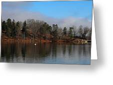 The Beauty Of Lake Junaluska  Greeting Card