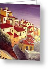 the beauty of Sicily Greeting Card