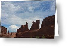 The Beauty Of Utah Arches Greeting Card