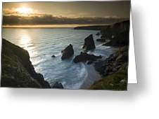 the Bedruthan Steps Greeting Card