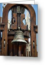 The Bell Of The Tall Ship Greeting Card
