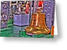The Bell Tolls Greeting Card