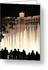 The Bellagio Greeting Card
