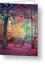 The Bench That Dreams Greeting Card