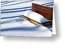 The Bench - The Guild Inn Greeting Card