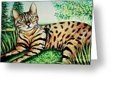 The Bengal Greeting Card