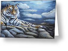 The Bengal Tiger Greeting Card