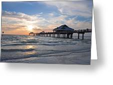 The Best Sunsets At Pier 60 Greeting Card